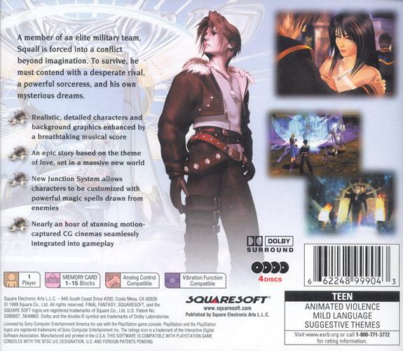 final fantasy viii disc 4